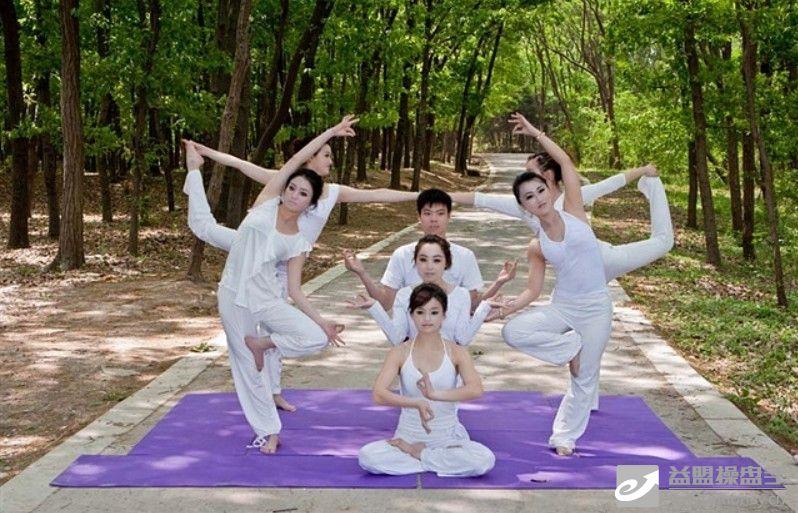 瑜伽美女 香车美女