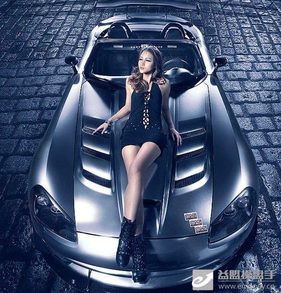 跑车美女美女跑车美女跑车图片香车美女图片